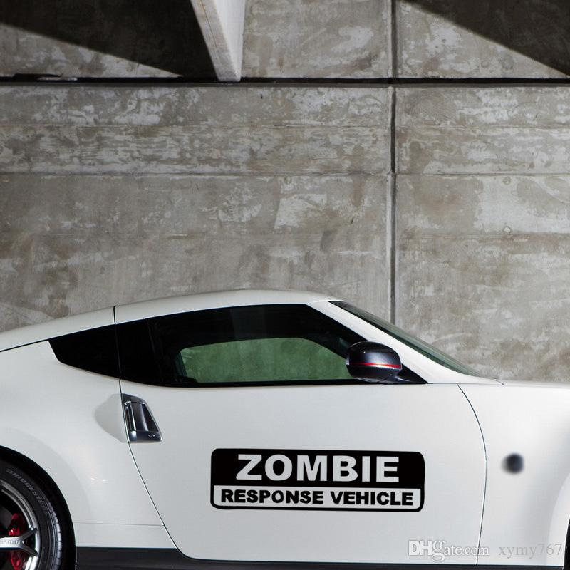 New Product For Zombie Response Vehicle Funny Vinyl Decal Jdm Weapon Ar15 Ak47 Car Styling Accessories Graphics