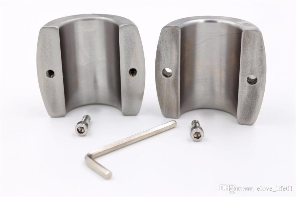 Начальный металлический шар Носилки Мошонка Подвеска семенника Удерживающие пенис стопорное кольцо БДСМ игрушки для мужчин 3 Размер для выбора