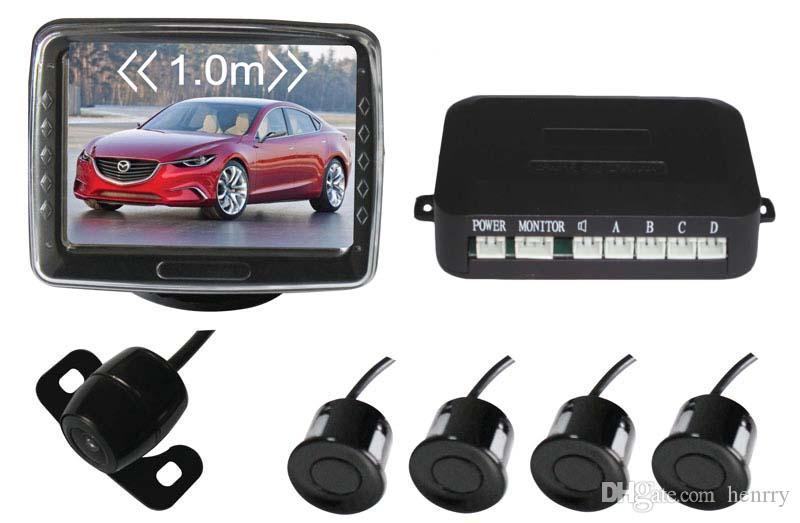 Telecamera retrovisiva auto Sistema di assistenza parcheggio intelligente PZ602C 4.3 pollici 16: 9 Fotocamera digitale Pixel 648 * 488 ePacket gratuito