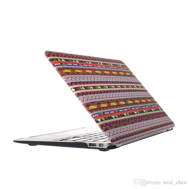 "Plastic Shell Bohemian Cover Case For Apple Macbook Air Pro Retina 11.6"" 13.3"" 15.4"" A1370 A1465 A1369 A1466 A1278"