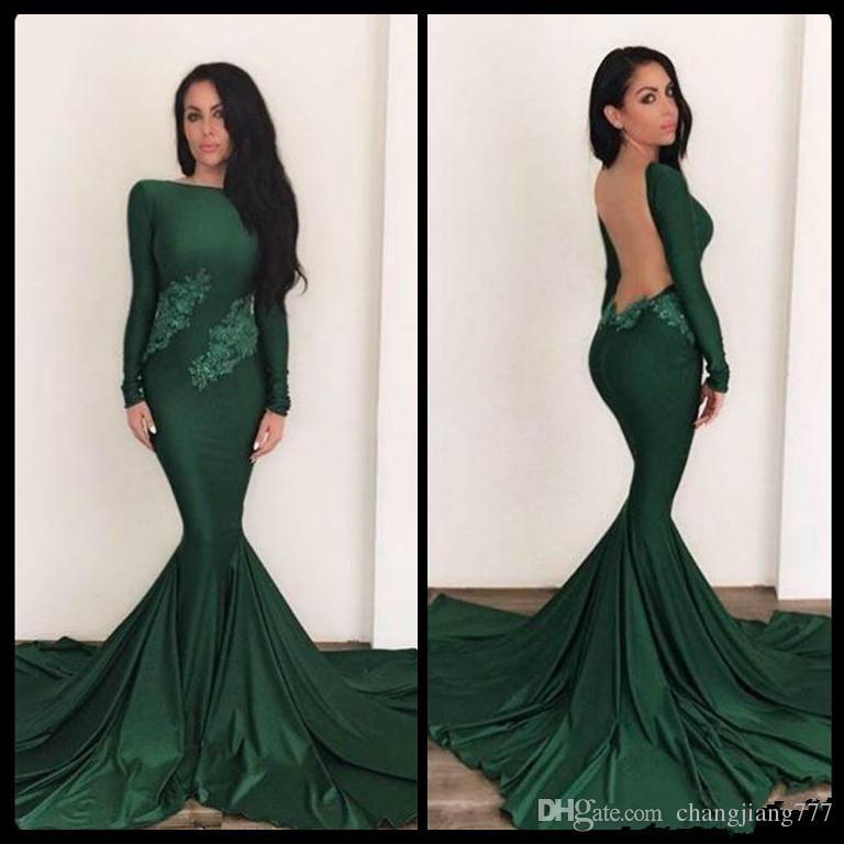Green Mermaid Dresses