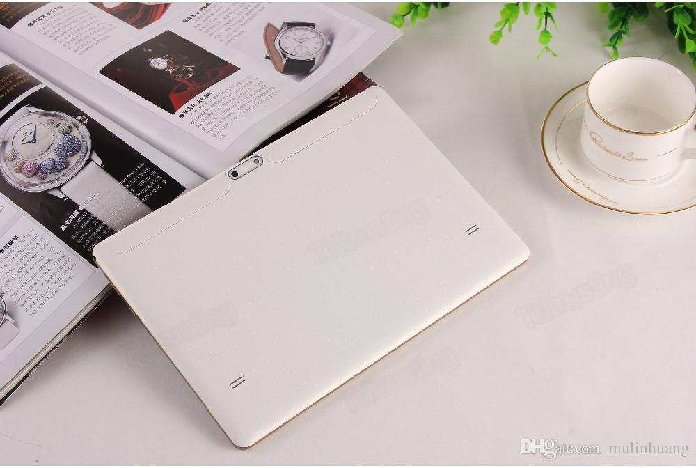 10 inç 1 GB RAM 16 GB ROM WCDMA 3G Tablet PC T960S Dört Çekirdekli 10.1 Inç telefon Tablet PC IPS MID Çift Sim GPS çocuklar Phablet PC 10 inç MQ5