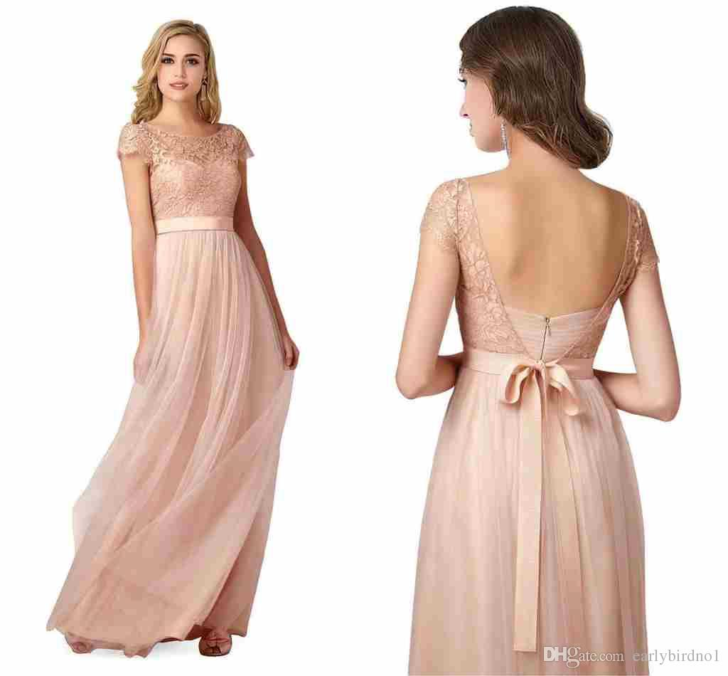 2017 new bohemian blush bridesmaid dresses cheap fairy style 2017 new bohemian blush bridesmaid dresses cheap fairy style summer beach maid of honor gowns cap sleeve with satin belt prom gowns cps221 plus dresses plus ombrellifo Choice Image