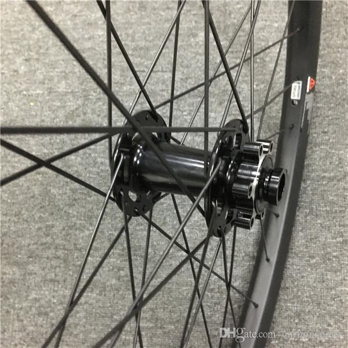 27.5er Carbon wheelset 35mm width mountain bicycle tubeless wheels with Powerway M81 HUB