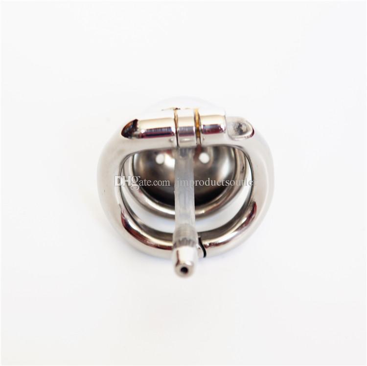 40 мм супер короткая металлическая клетка с уретральными звуками 304# из нержавеющей стали маленькая мужская клетка целомудрия новые устройства целомудрия для мужчин