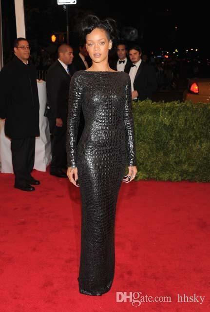 Celebrity dress Evening dress Labourjoisie O-Neck Long sleeve Green Sequines Coat Yousef aljasmi Kylie Jenner Zuhair murad Kim kardashian