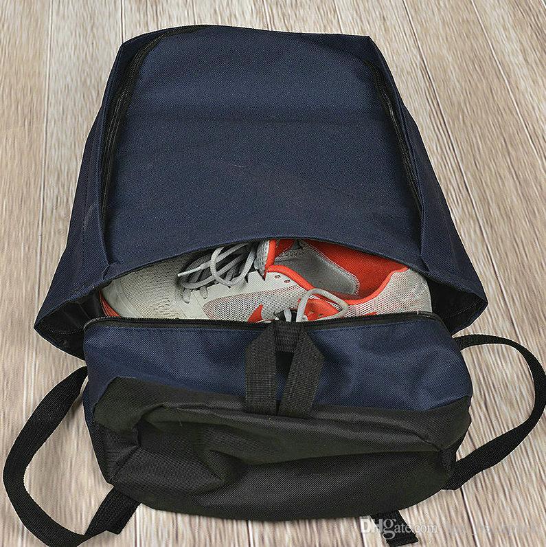 Zlatan Ibrahimovic backpack Overhead shot day pack كرة القدم لعبة حقيبة مدرسية soccer packsack الجودة حقيبة الظهر الرياضة المدرسية daypack