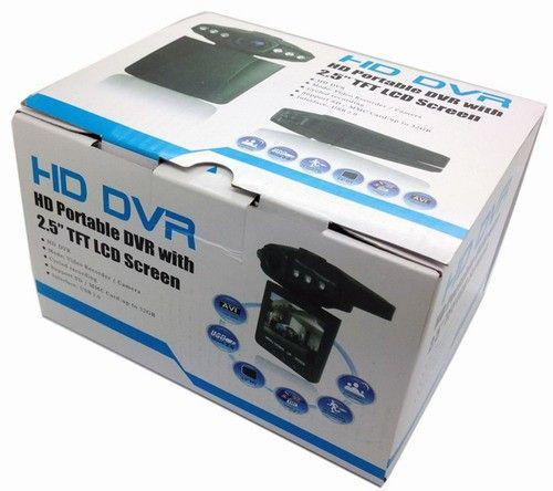 Sıcak satış 2.5 '' Araba Çizgi kam Araba DVR kaydedici kamera araba kara kutu H198 gece sürüm Video Kaydedici dash Kamera 6IR LED