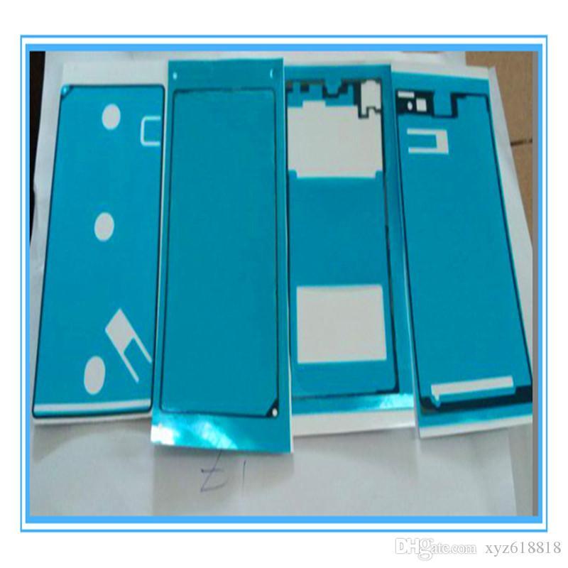 4 Teile Satz Hohe Qualität Neue Replacemen Voller Aufkleber Für Sony Xperia Z1 L39h Lcd Vorderrahmen Platte Gehäuse Batterie Rückseitige