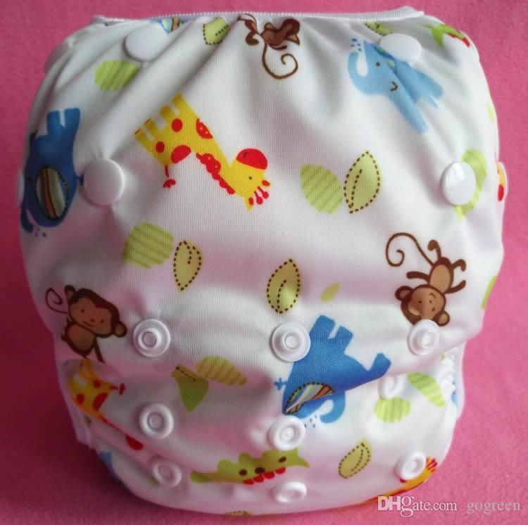 Erkek Kızlar için yeni Mayo Kullanımlık Kurulu Kısa Sandıklar Bebek Yüzmek Bezi Bez Bezi Bebek Bezleri Unisex Eğitim Pantolon