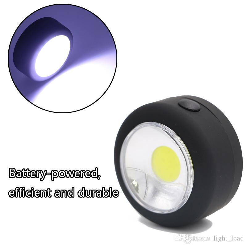New Portable COB LED Work Light Lamp Flashlight Torche with Magnet Hanging Hook Tactical Lamp for Outdoors