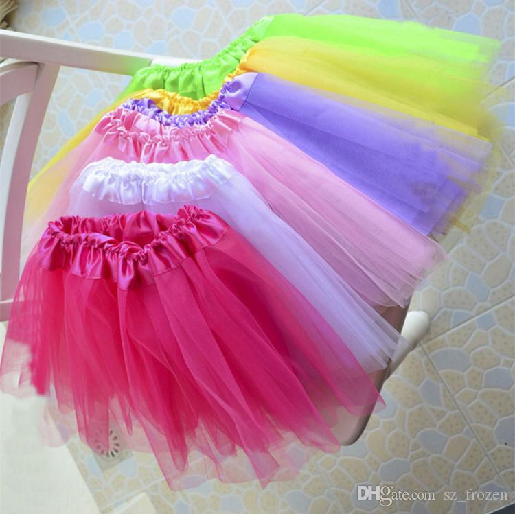 Best Match Baby Girls Childrens Kids Dancing Tulle Tutu Skirts Pettiskirt Dancewear Ballet Dress Fancy Skirts Costume A-0415