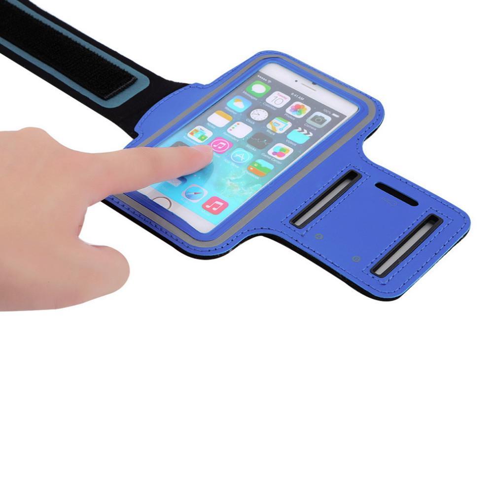 Водонепроницаемость сотовый телефон повязка чехол спорт бег тренажерный зал чехол Водонепроницаемый держатель повязки Pounch для samsung S7 edge s8 plus