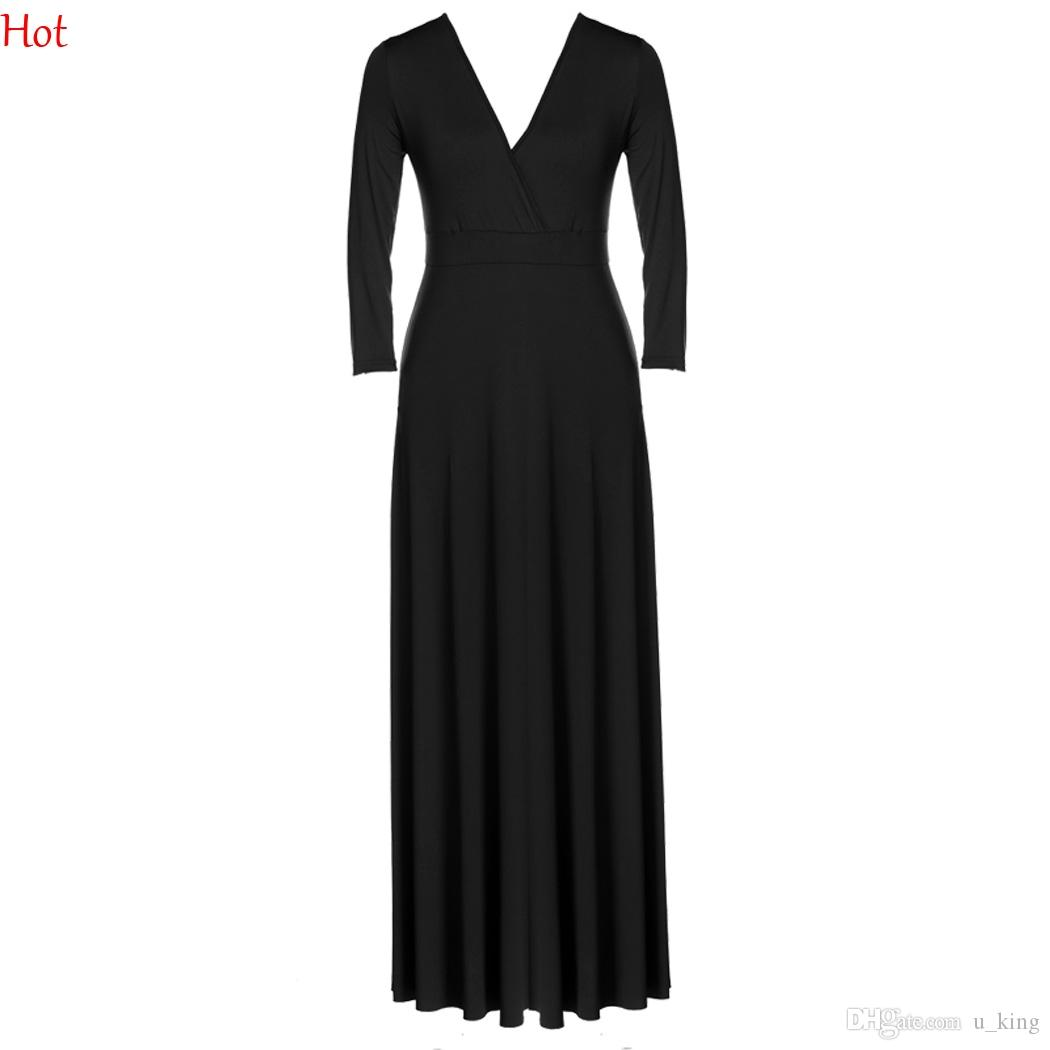 c9dc5bdabdd0 Cheap Black Halter Neck Dress Clubbing Best Celebrities Wearing V Neck  Dresses