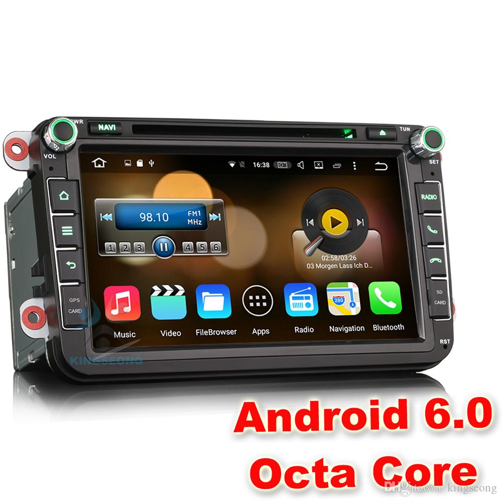 2018 8 android 6 0 1 car stereo radio dvd gps for vw golf. Black Bedroom Furniture Sets. Home Design Ideas