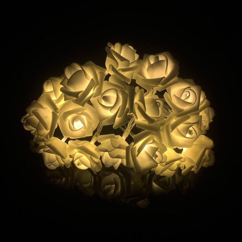 Wholesale 3m Leds Rose Led String Holiday Night Light Bedroom Indoor ...