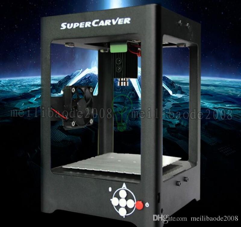 Supercarver 500 MW 1000 MW Miniatur elektrische Laser Graviermaschine Legierung Laserengraver Haushalt DIY Mini USB Drucker Ausrüstung MYY