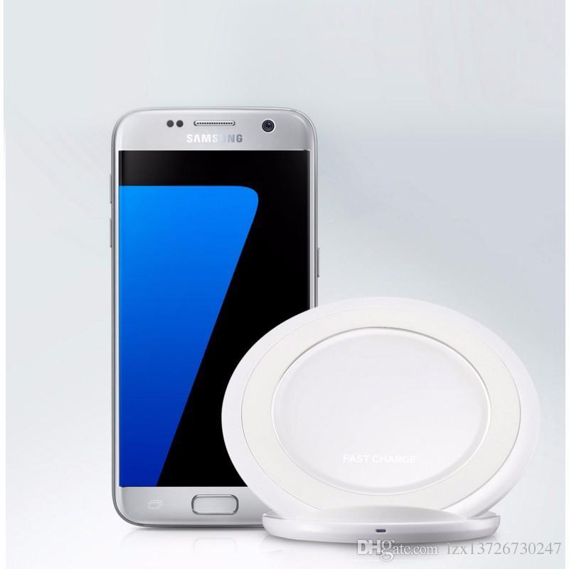 Hızlı Şarj Için kablosuz şarj şarj standı Dock Samsung Galaxy S8 S8 Artı S6 Kenar artı S7 Kenar artı