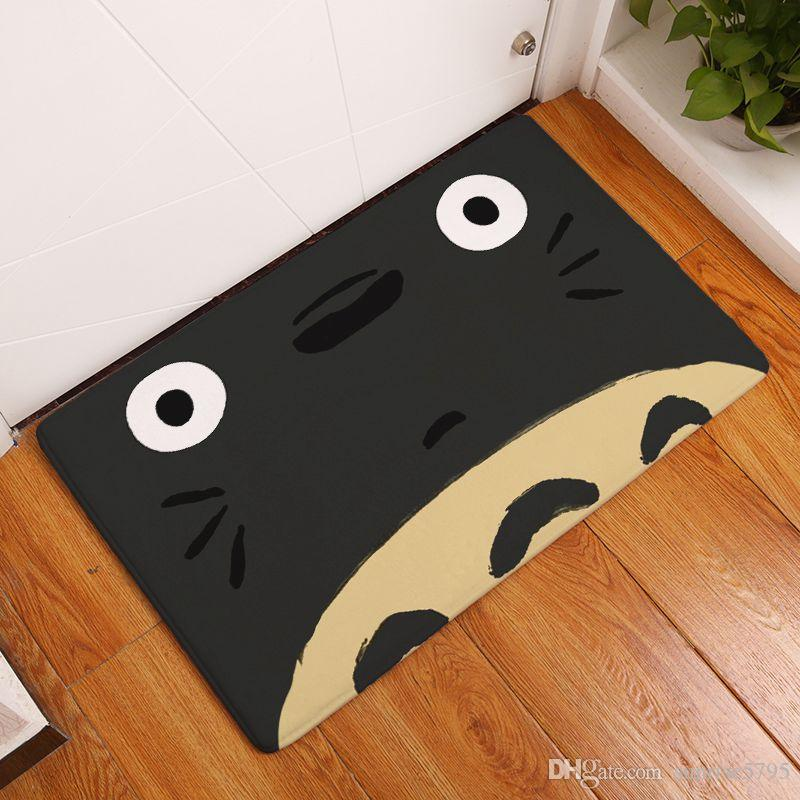 Каваи Тоторо Добро пожаловать коврик дверь вход ковер кухня ванная комната коврик смешной пол коврик современный домашний декор