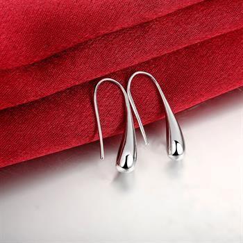 Großverkauf - niedrigster Preis Weihnachtsgeschenk 925 Sterlingsilber-Art- und Weiseohrringe E004