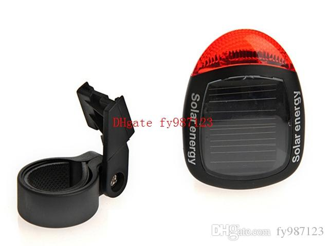 Brand new Bike Bicycle Light Cycling Accessories Rear Lights Solar Energy Led Warning Lamp