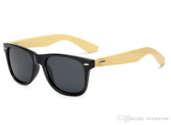 UV400 fashion polarized retro sunglasses Bamboo full frame sunglasses bike cycling dazzling sunglasses eyewear googles B642