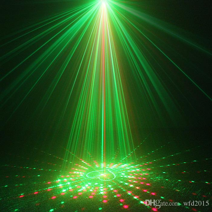 Mini 20 RG Patterns Laser Projector Stage Equipment Light 3W Blue LED Mixing Effect DJ KTV Show Holiday Laser Stage Lighting L20RG