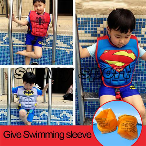 Wholesale- Child lifejacket buoyancy vest floating children clothing baby infant swimwear send snorkeling swimming sleeve