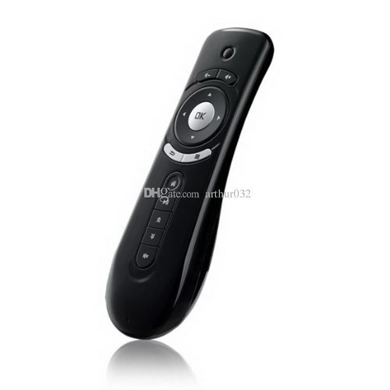 Fly Air Mouse T2 Remote Control 2.4GHz Wireless 3D Gyroscope Motion Stick Game Keyboard For 3D Sense Game Android TV Box Google TV Player