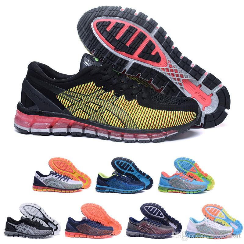 2018 2017 Best Asics Gel Quantum 360 Cm T6g6n 3901 New Buffer Running Shoes  Original Men Women Athletics Sneakers Sport Shoes Boots 36 45 From  Wegosport, ...