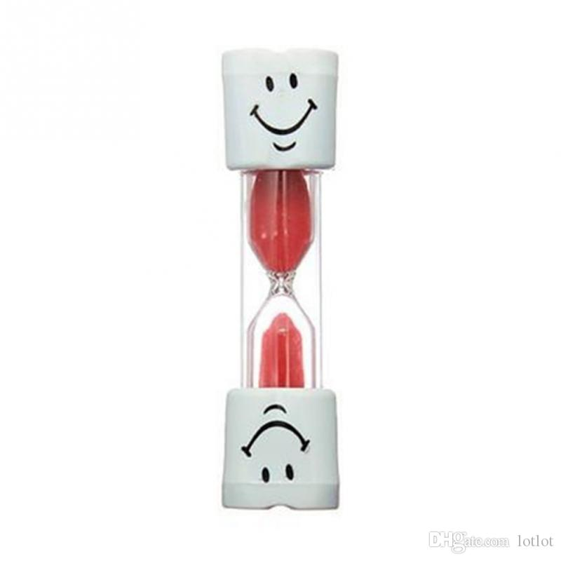 Mini Smiling Face Sandglass Hourglass Sand Clock Timer 2,3, 5 Minutes