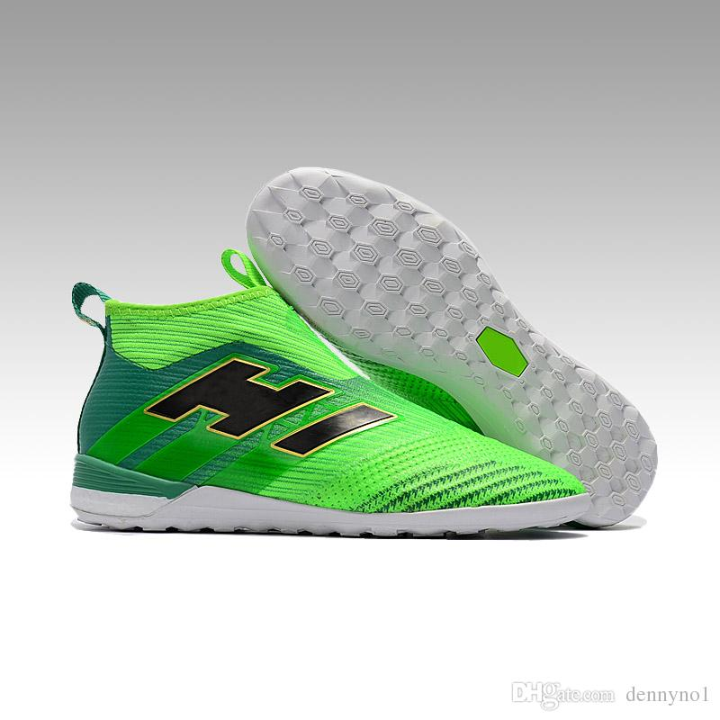 nike indoor soccer shoes green