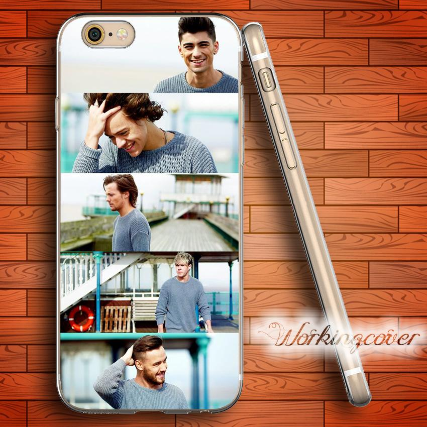 1df72e276 Fundas One Direction Collage Soft Clear TPU Case For IPhone 7 6 6S Plus 5S  SE 5 5C 4S 4 Case Silicone Cover. Customize Phone Cases Mobile Phone Case  From ...