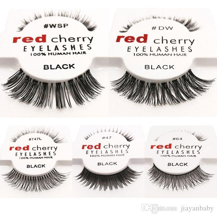 15 Styles Dhl Red Cherry False Eyelashes Natural Long Eye Lashes