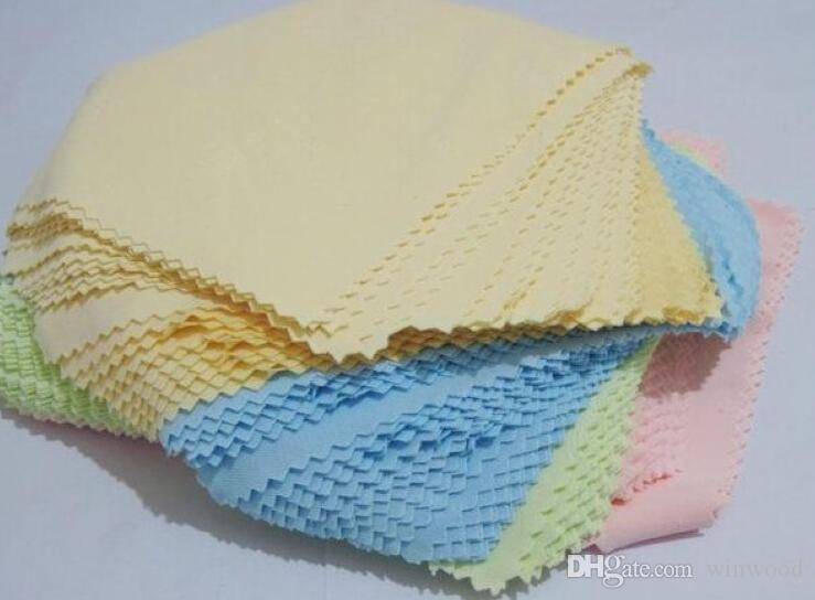 14*14 cm Microfiber Cleaning Cloths for LCD LED Tablet Phones Computer Laptop Glasses Cloth Lens Eyeglasses Wipes Dust Washing Cloth