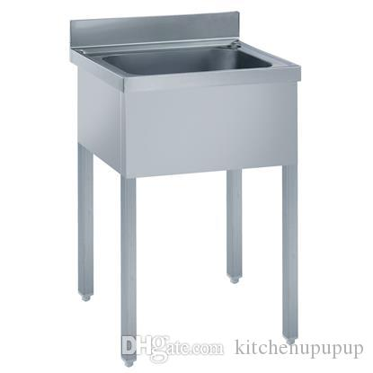 2017 Kindelt Commercial Kitchen Sink With Single Bowl, Heavy Duty S/S Sink  With Legs Adjustable U0026 Edge Welded, Welcome Oem From Kitchenupupup, ...
