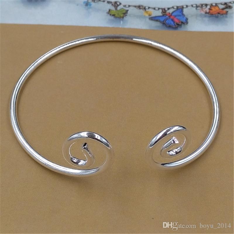 BoYuTe 5шт горячая продажа DIY металлический браслет Браслет линия моды Twist Сунь Укун золото серебро браслет