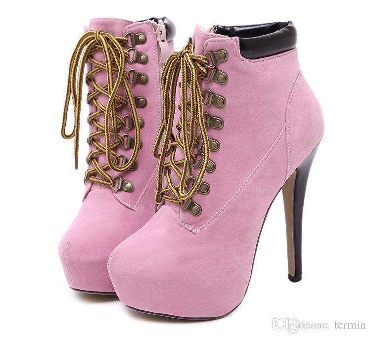 سوبر الكعب العالي الأشرطة عبر غرامة مع الأحذية ذات جودة عالية الدانتيل الأحذية النسائية الأوروبية أحذية البند رقم GGX-023