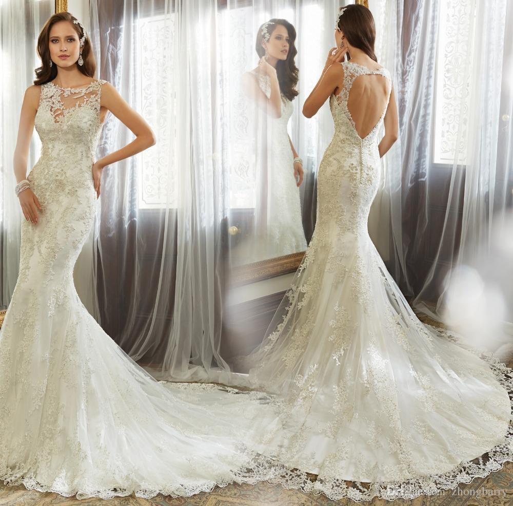 NE050 Lace Overlay Back Hole Sleeveless Customized Women Elegant ...