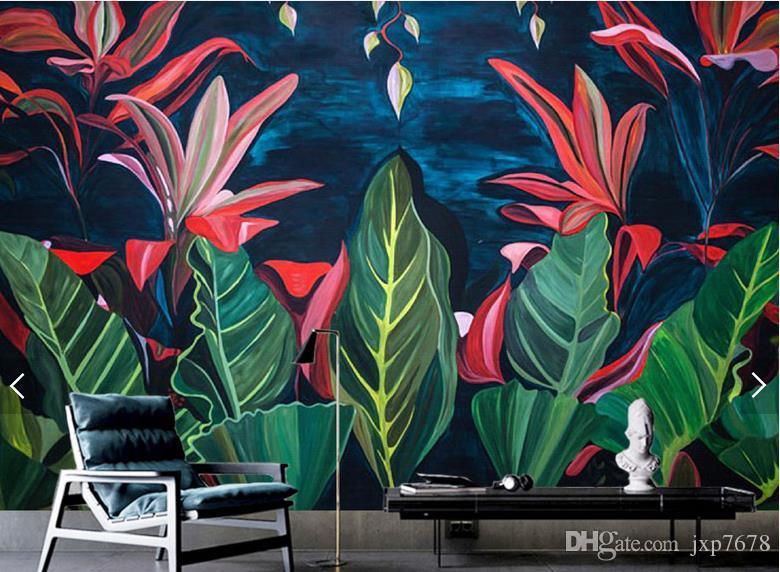 Carta Da Parati Foresta Tropicale : Acquista tv sfondo murales 3d rilievo carta da parati foresta