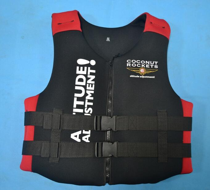 Wholesale- Best Quality Adult Life Jackets Life Vest Life-saving 100%  NEOPRENE Bear the Weight of 50-120 Kg Surfing Fishing Vest Jacket Sizes Vest  Sport ...