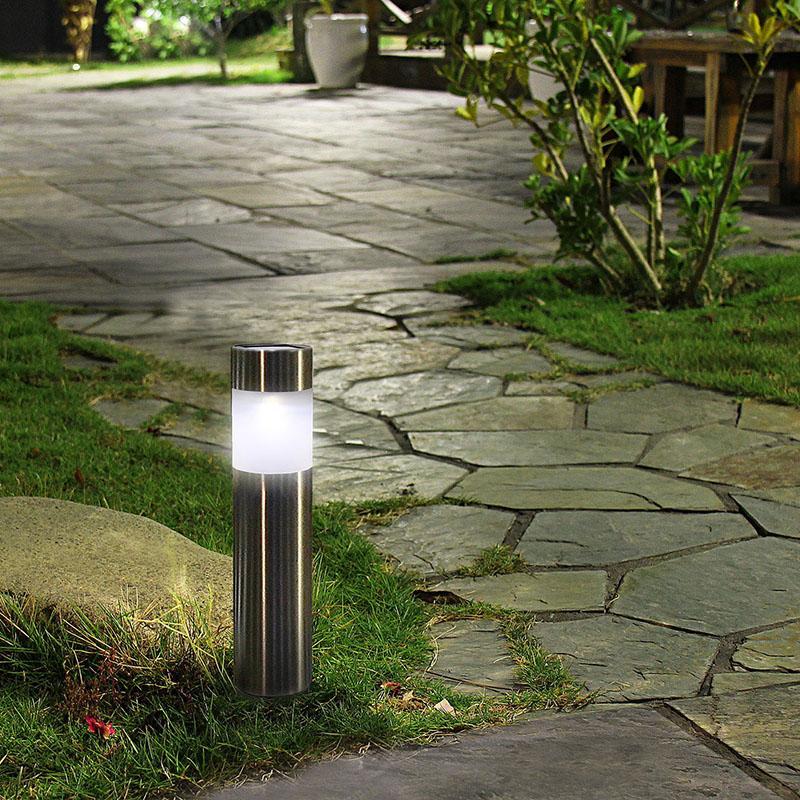 2019 Wholesale Solar Outdoor Garden Path Lawn Light White