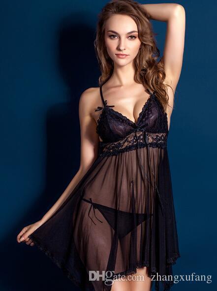 Бесплатная доставка горячая распродажа 2017 Sexy Brand new сексуальное женское белье sexy пижамы для девушки и молодой леди