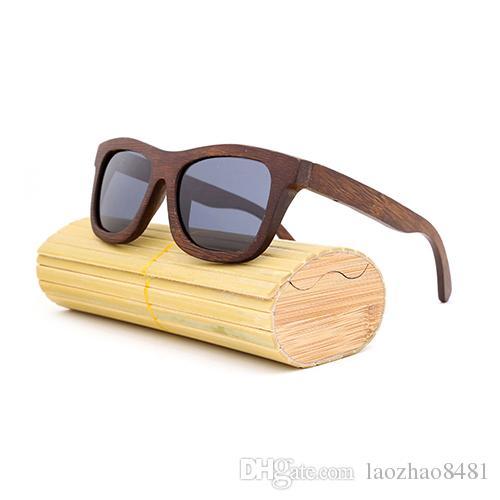 bc22aa36f4c11 New Fashion Products Men Women Glass Bamboo Sunglasses Au Retro Vintage Wood  Lens Wooden Frame Handmade Designer Eyeglasses Womens Sunglasses From ...
