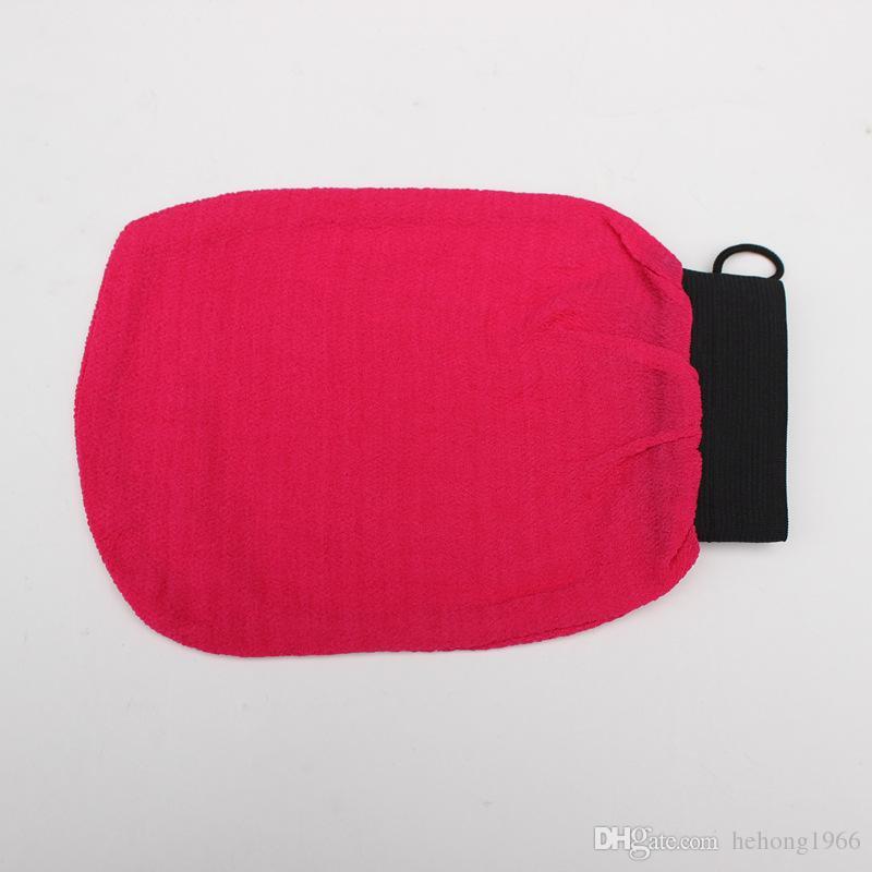 Rayon Multicolor One Layer Exfoliating Take Shower Magic Peeling Glove Bathe Towel Remove Cutin Clean Bath Gloves Trial Order 3 5cz C R