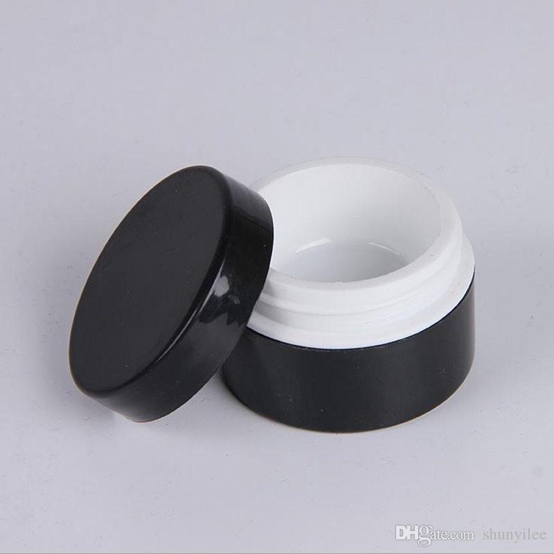 20g cosmetici vaso vuoto trucco trucco crema il viso bottiglia bottiglia di accessori unghie in polvere scatola di immagazzinaggio caso gel polish F20171212