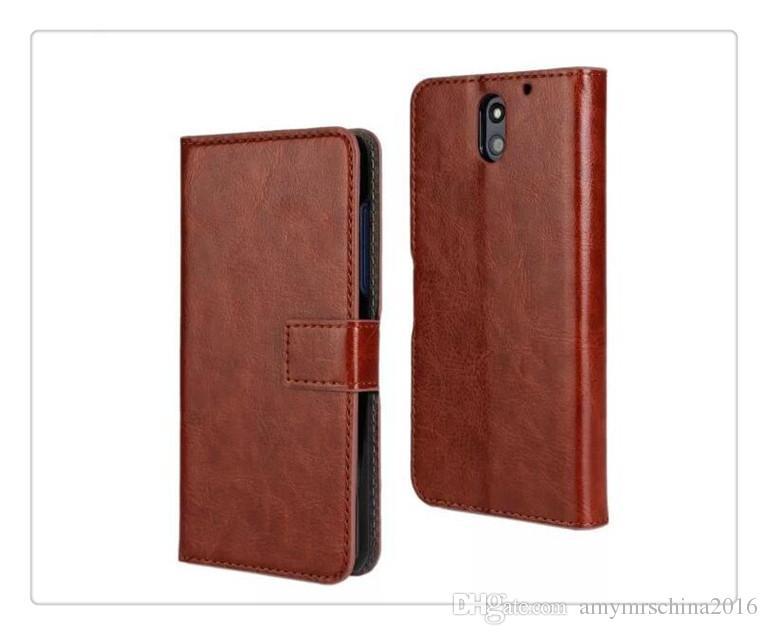 HOT para iphone 5s / 6 plus real carteira de couro genuíno titular do cartão de crédito suporte case capa para samsung galaxy s6 / s7