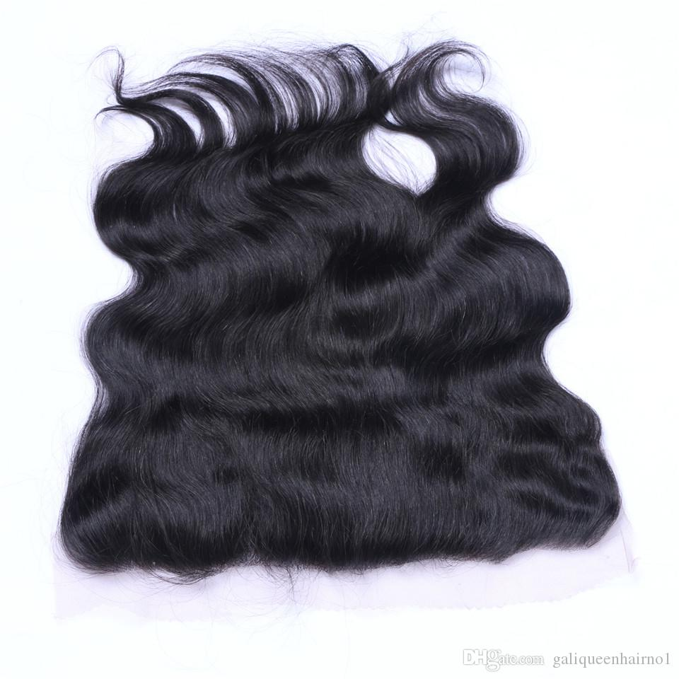 Бразильская волна тела 13x4 ухо до уха предварительно сорванные кружевные фронтальные фронталы с детскими волосами Remy Hair Free Pail Praphals