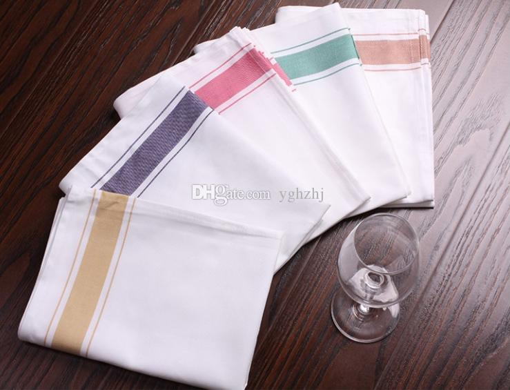 Wholesale towels, hotel bar dedicated cup cleaning towel, do not lose hair can not afford to rub the cup cloth