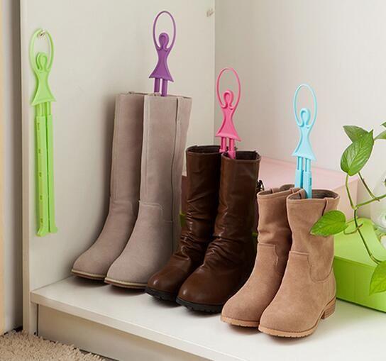 Housekeeping Girl Ballet Scalable Tree Shoes Table Shoe Rack Long Boots Stays Folder perchero